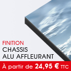 tirage PlexiArt --> Chassis Affleurant