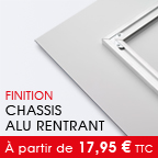 tirage PlexiArt --> Chassis rentrant