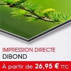 tirage PVC -> Dibond